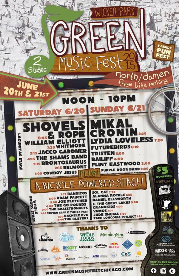 Music slots at Green Music Festival 2015 Event
